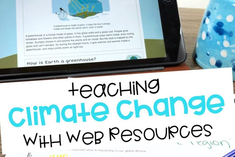 Teaching Climate Change With Web Resources