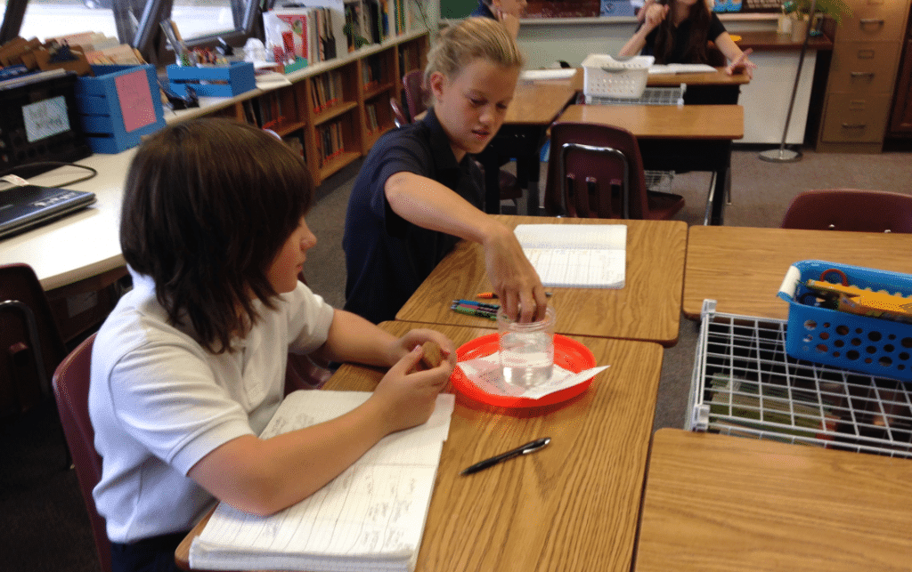 Lab experiences can be a great ENGAGE activity for the 5E Model. They spark discussion, questions, and curiosity.