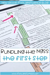 bundling the ngss