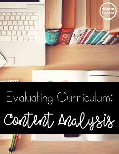how to evaluate your science curriculum to better align its content to the NGSS