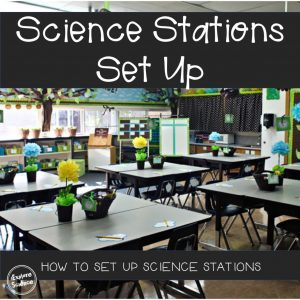 How to set up stations in your science classroom!