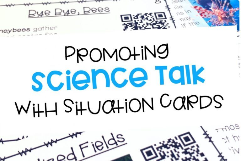 Using Real World Situations To Promote Science Talk: Biotic and Abiotic Factors In Ecosystems Cards